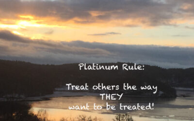 """Working Across Cultures – The """"Golden (Rule)"""" or the """"Platinum (Rule)"""" Way?"""